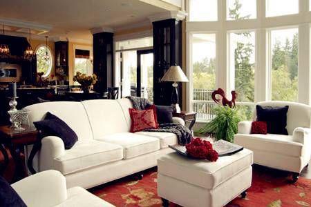 客厅不同颜色风水 客厅中不同方位使用什么颜色?